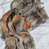 Felt And Plant Dye Bundling