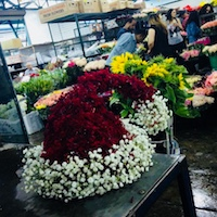 Special Christmas Eve Flower Market Tour & Bubbly Breakfast