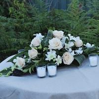 Classic Banquet Table Centrepiece