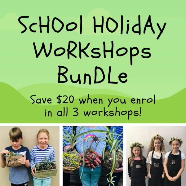 School Holiday Workshop Bundle