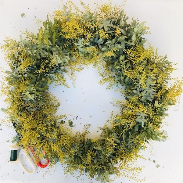 Wattle Wreath