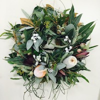 Australian Wildflower Wreath