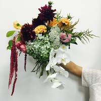 Large Hand-tied Floral Bouquet