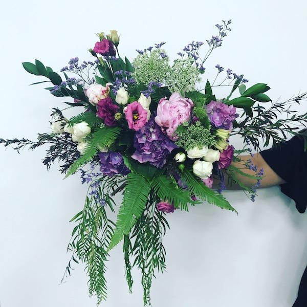 Foam Free Wedding Bouquet