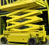 Yellow Card-Scissor Lift EWPA