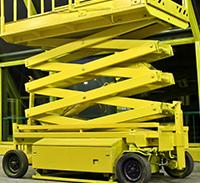 Yellow Card-Scissor Lift EWPA