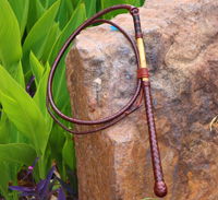 Leatherwork: Roo Hide Whip Making (8-strand)