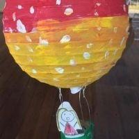 Balloon Ride Lantern Sculpture - 4-7yrs