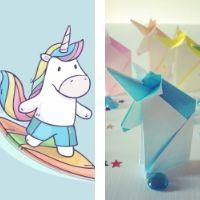 Sea Unicorns & Origami Unicorns