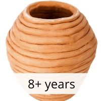 Coil Vases 8+ yrs