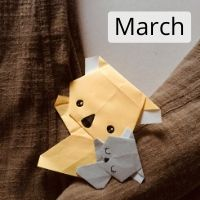Sat 14 Mar - Koala Origami Greeting Card Workshop with Japanese Green Tea and Sweets