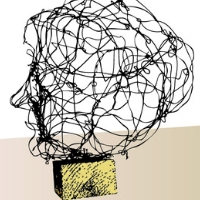 Wire Self Portraits