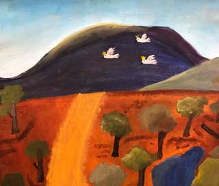 Outback Australia Painting     8-14 year olds  
