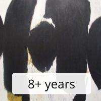 Abstract / Mixed Media Artwork 8+ yrs