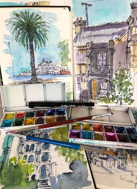 The Travel Sketchbook Workshop