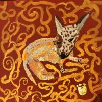 Animal Paintings in the style of Klimt - 8+yrs