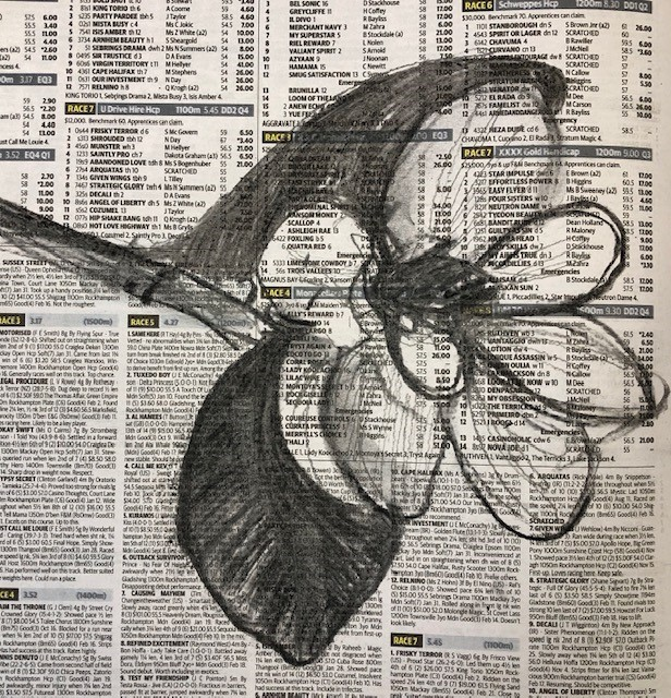 Newspaper Still Life