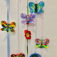 Butterfly Mobile 4-10 yrs