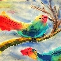 Patchwork Bird 4 to 7