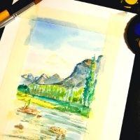High School - Landscape