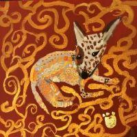 High School Workshop (11+yrs) - Animal Paintings in the style of Klimt