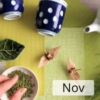 Origami  Workshop with Japanese Green Tea and Sweets - November