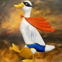 Duck Drawing & Painting - 8+ yrs
