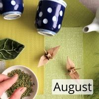 Origami  Workshop with Japanese Green Tea and Sweets - August