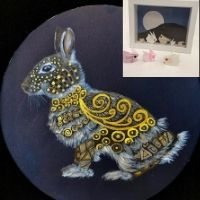 Origami Bunny & Painting - 4-7yrs