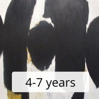 Abstract / Mixed Media Artwork 4-7 yrs
