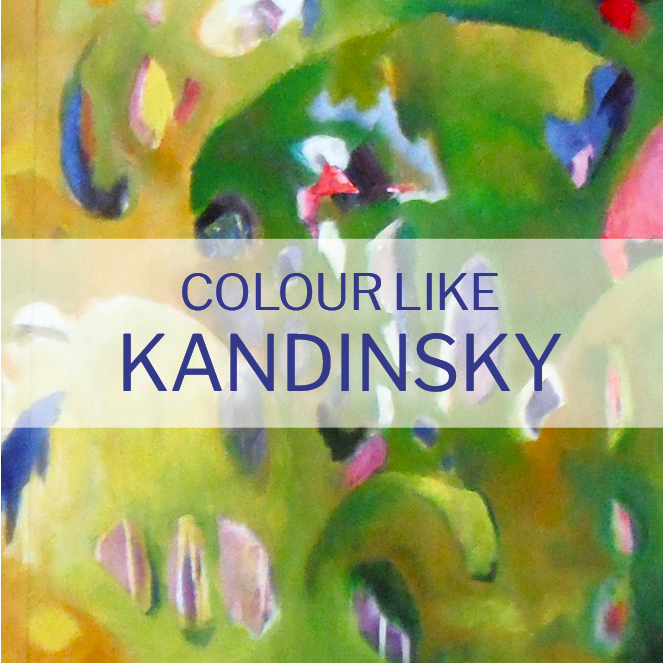 Sun 3rd May - 9am - 1pm - Expressive Abstraction - Colour like Kandinsky