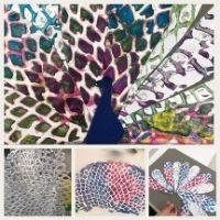 Colourful Peacocks - 4-7yrs