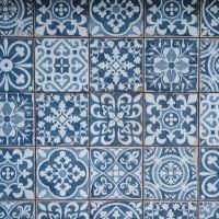 Blue & White Designs - 4-7yrs