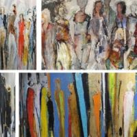 Introduction to semi-abstract figurative painting