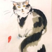 Cats Oriental Painting - 4-7yrs
