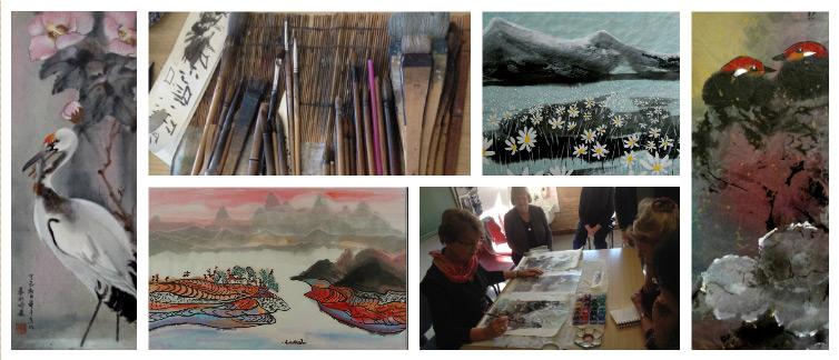 Chinese Brush Painting Beginners And Intermediate