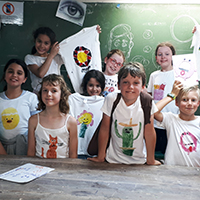 Childrens' T-shirts & Eco Bags with Rachel Carroll