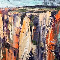 Painting Untamed Land - Rowen Matthews
