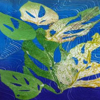 Monoprinting From the Natural World with Seraphina Martin - Holiday Workshop