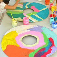 Giant Donuts and Other Sweets Cardboard Creations with Cayn Rosmarin - Holiday Workshop