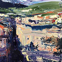 Painting The Drama of Cliffs & Rock Faces with Rowen Matthews - Holiday Workshop