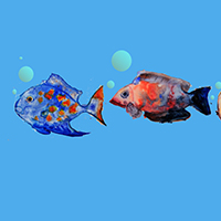 Watercolours Under the Sea with Assaf Carmeli - Holiday Workshop