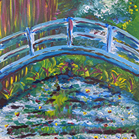 Monet and the Water Lilies with Rachel Carroll  - Holiday Workshop