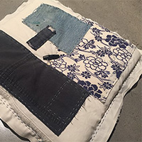 Japanese Boro Cushion with Rhonda Pryor - Holiday Workshop