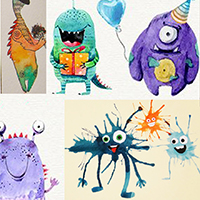 Little Monsters - Drawing with Assaf Carmeli - Holiday Workshop