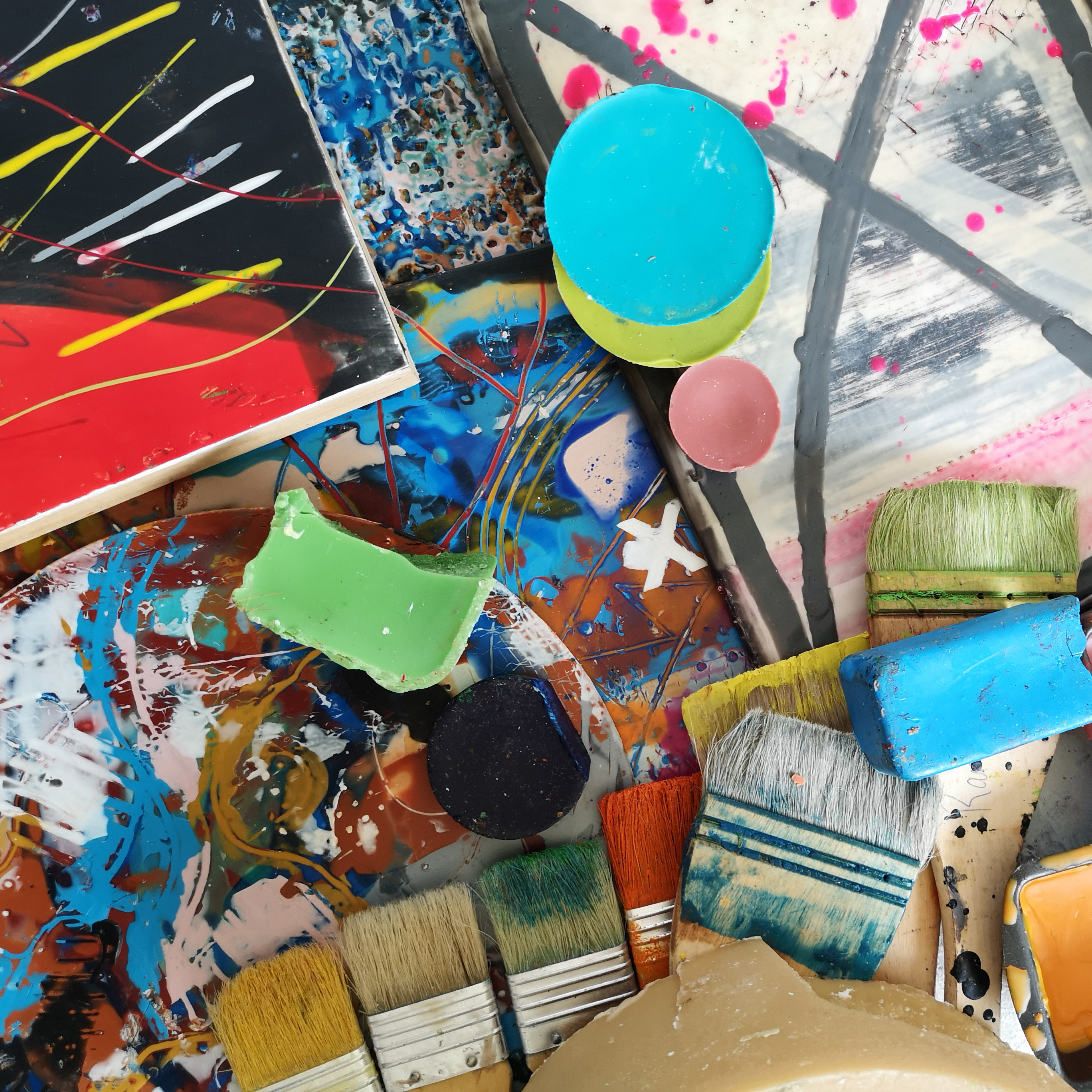 Principles of Encaustic Painting with Randal Arvilla - Holiday Workshop
