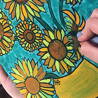 Paint Your Own Masterpiece with Rachel Carroll - Holiday Workshop