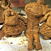 Clay Day for Kids with Montessa Maack - Holiday Workshop