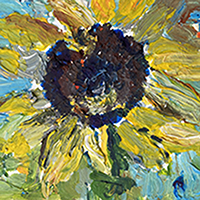 Paint Sunflowers Like Vincent Van Gogh with Yaeli Ohana - Holiday Workshop
