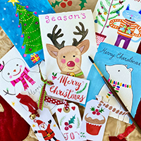 Christmas Card Creations with Dominique Smallcombe - Holiday Workshop